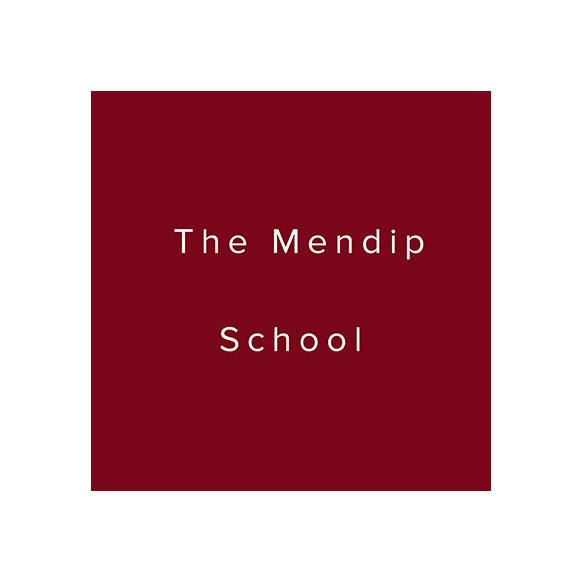 the mendip school logo